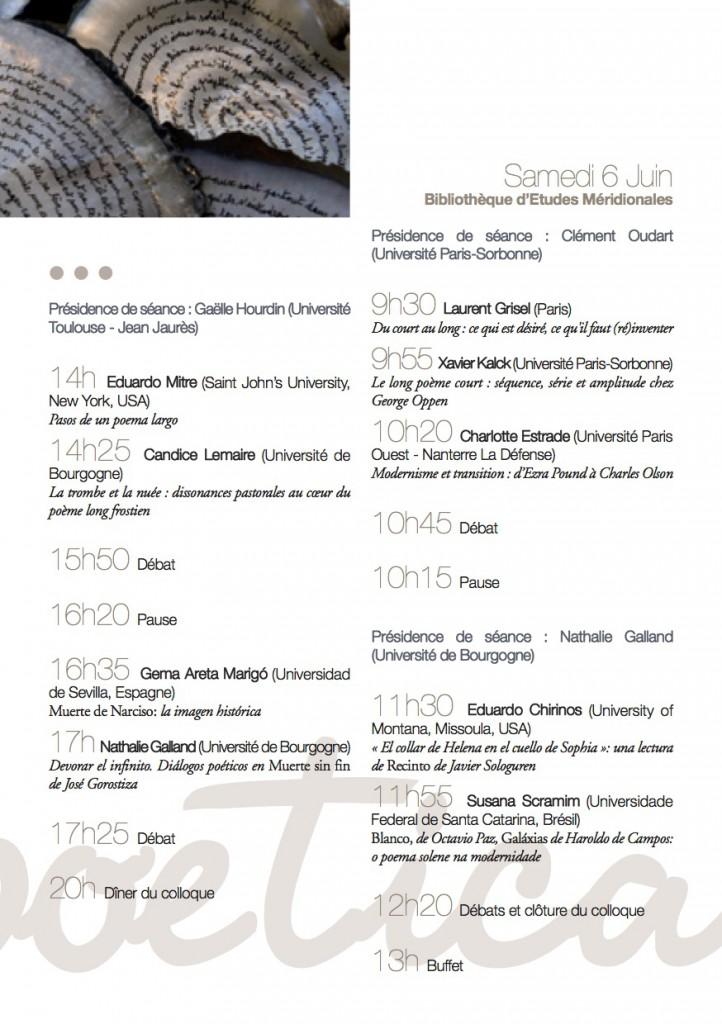 programme Ars poetica 2